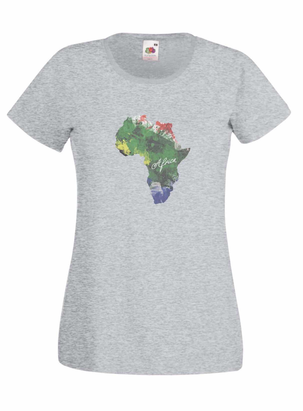 Colour Continent design for t-shirt, hoodie & sweatshirt