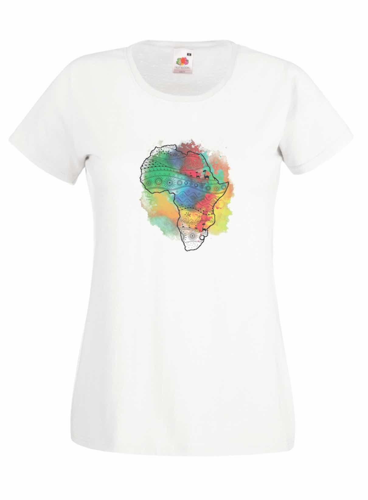 Continent design for t-shirt, hoodie & sweatshirt