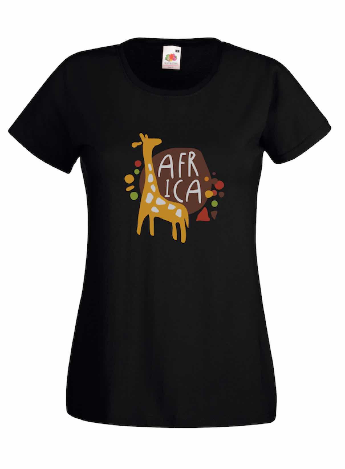 Giraffe design for t-shirt, hoodie & sweatshirt