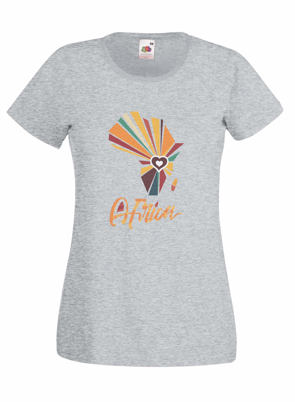 Africa Heart design for t-shirt, hoodie & sweatshirt