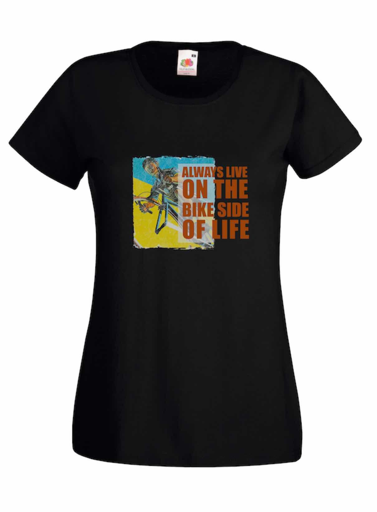 Bike Side design for t-shirt, hoodie & sweatshirt