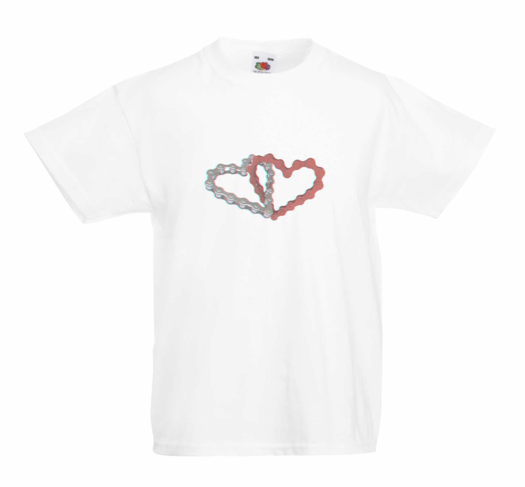 Chain Heart design for t-shirt, hoodie & sweatshirt