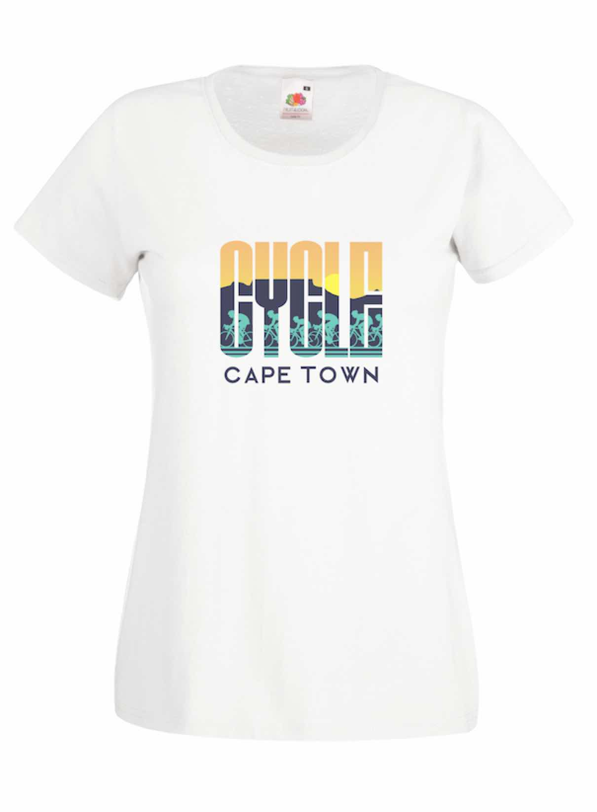 Cycle Cape Town design for t-shirt, hoodie & sweatshirt