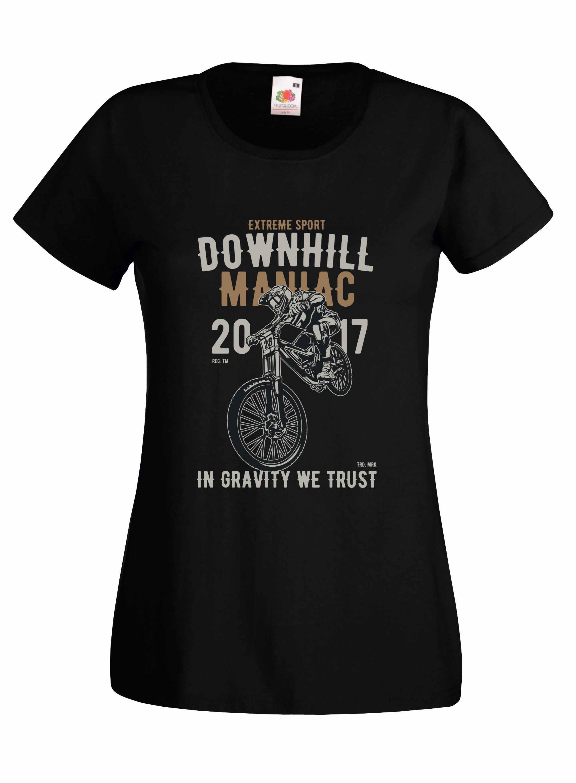 Downhill Maniac design for t-shirt, hoodie & sweatshirt