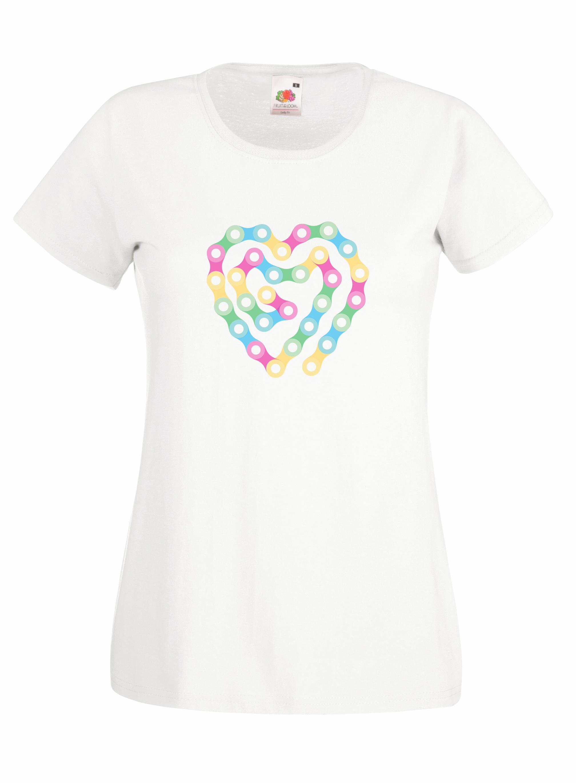 Heart Chain design for t-shirt, hoodie & sweatshirt