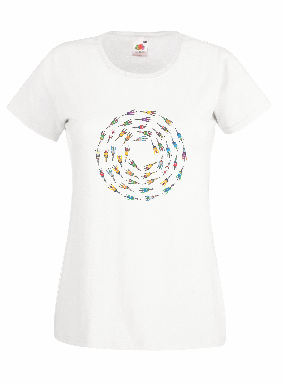 Cyclist Circle design for t-shirt, hoodie & sweatshirt