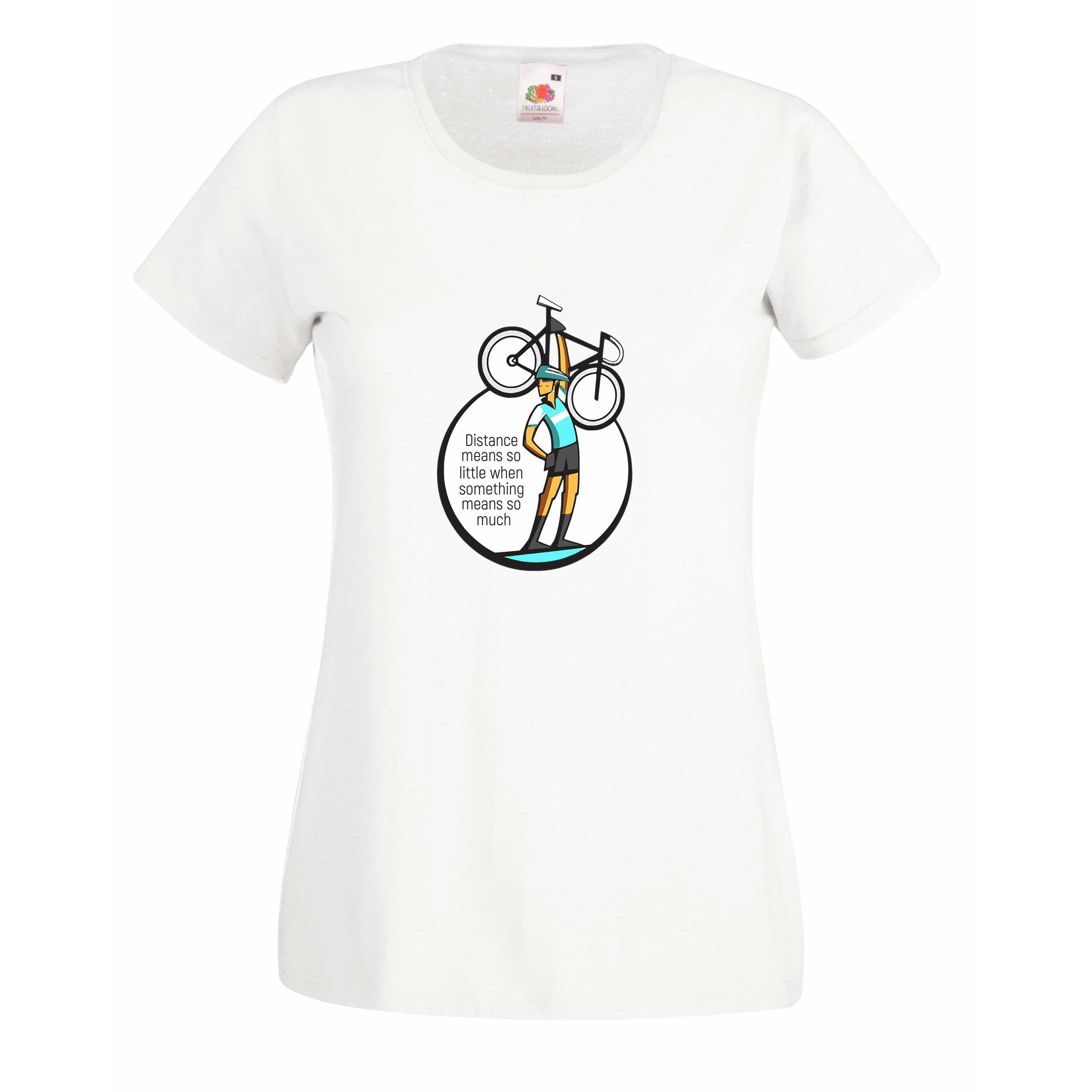 Distance design for t-shirt, hoodie & sweatshirt