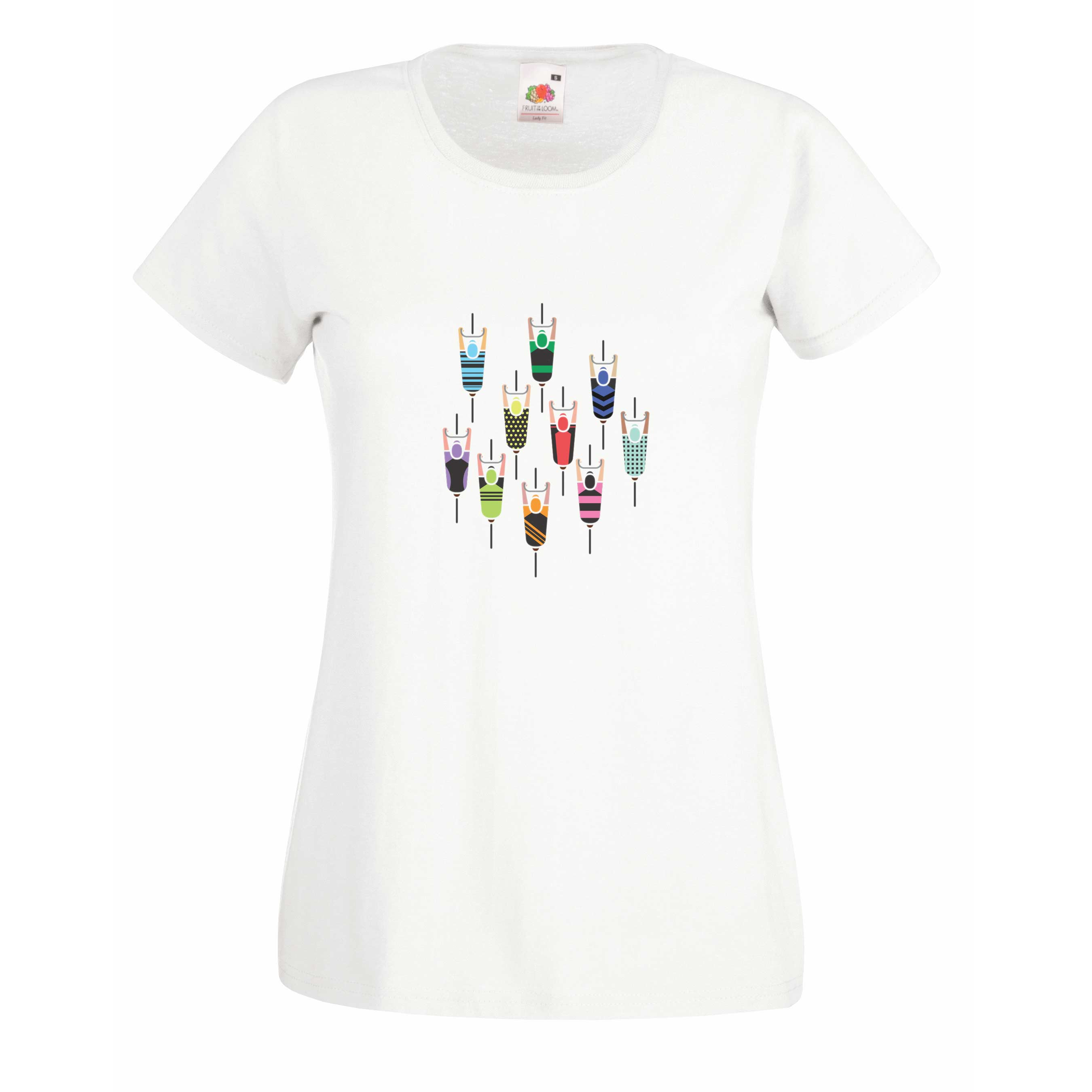 Top view design for t-shirt, hoodie & sweatshirt