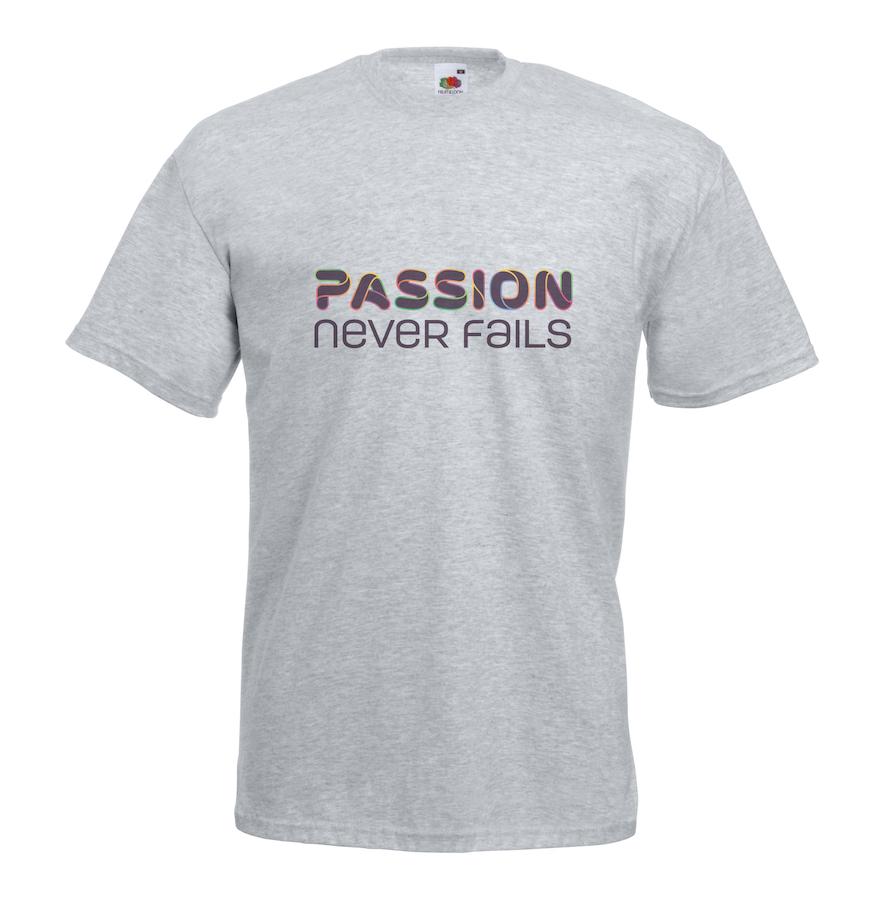 Passion design for t-shirt, hoodie & sweatshirt