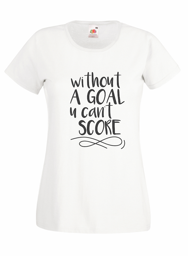 Without A Goal design for t-shirt, hoodie & sweatshirt