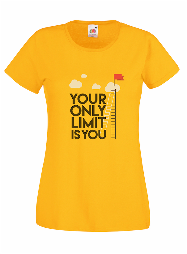 Your Only Limit design for t-shirt, hoodie & sweatshirt
