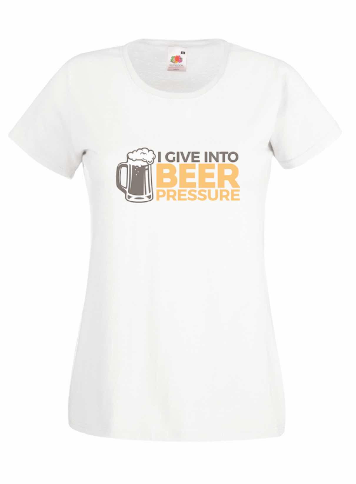 Beer Pressure design for t-shirt, hoodie & sweatshirt
