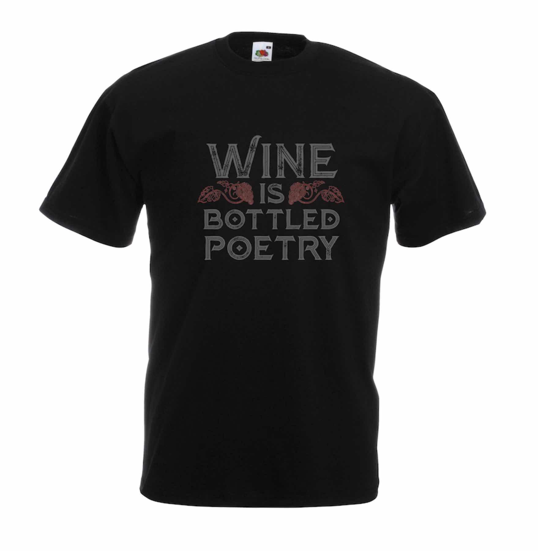 Bottled Poetry design for t-shirt, hoodie & sweatshirt