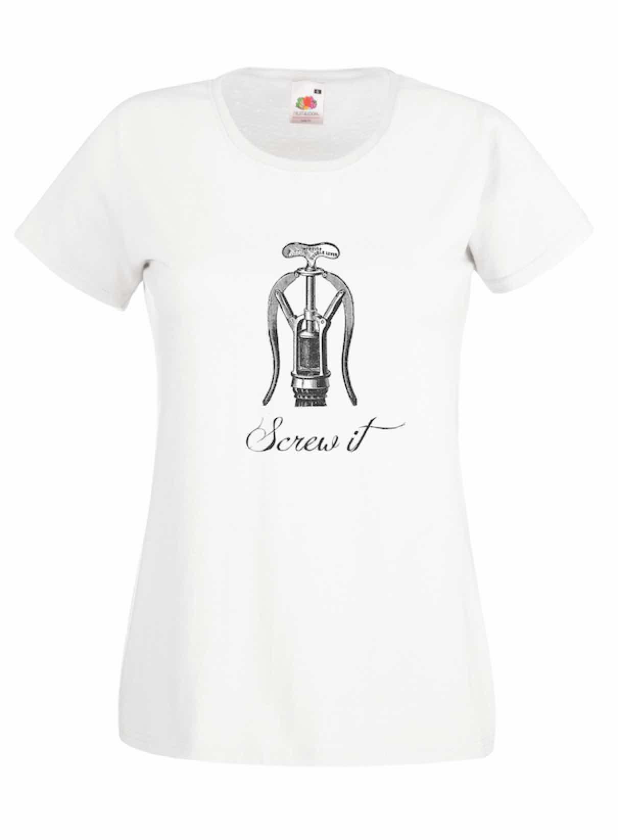 Screw It design for t-shirt, hoodie & sweatshirt