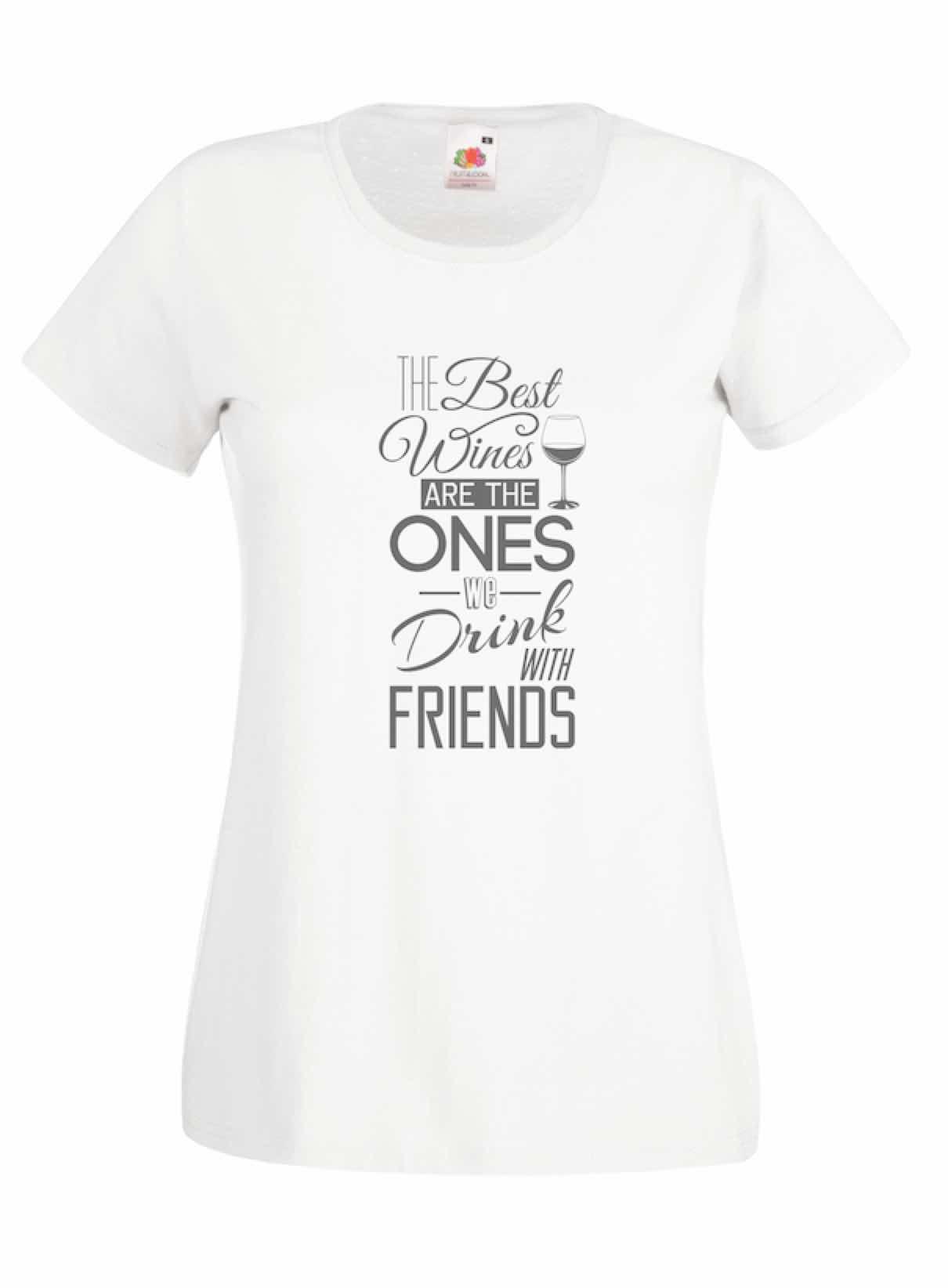 The Best Wines design for t-shirt, hoodie & sweatshirt