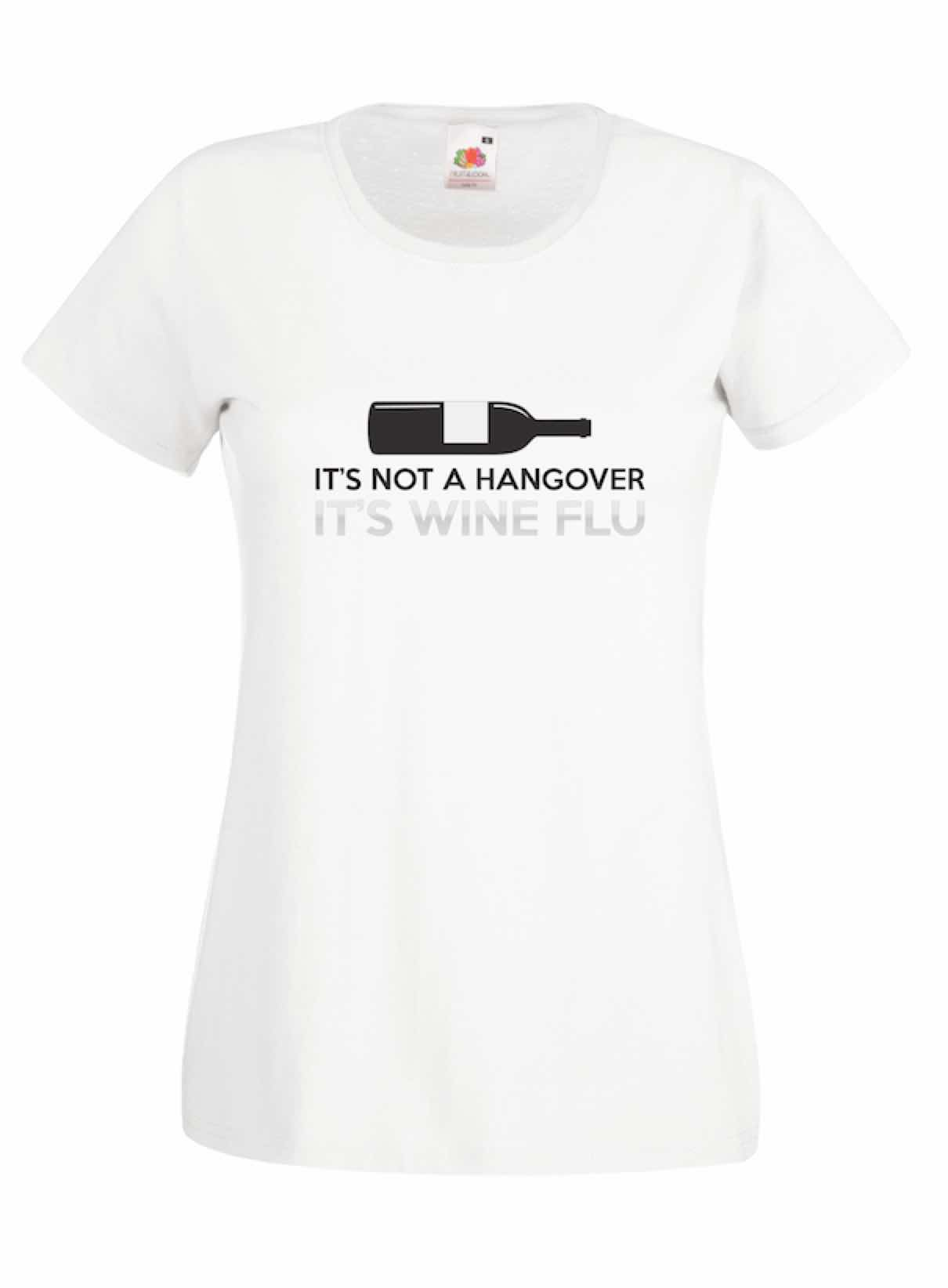 Wine Flu design for t-shirt, hoodie & sweatshirt