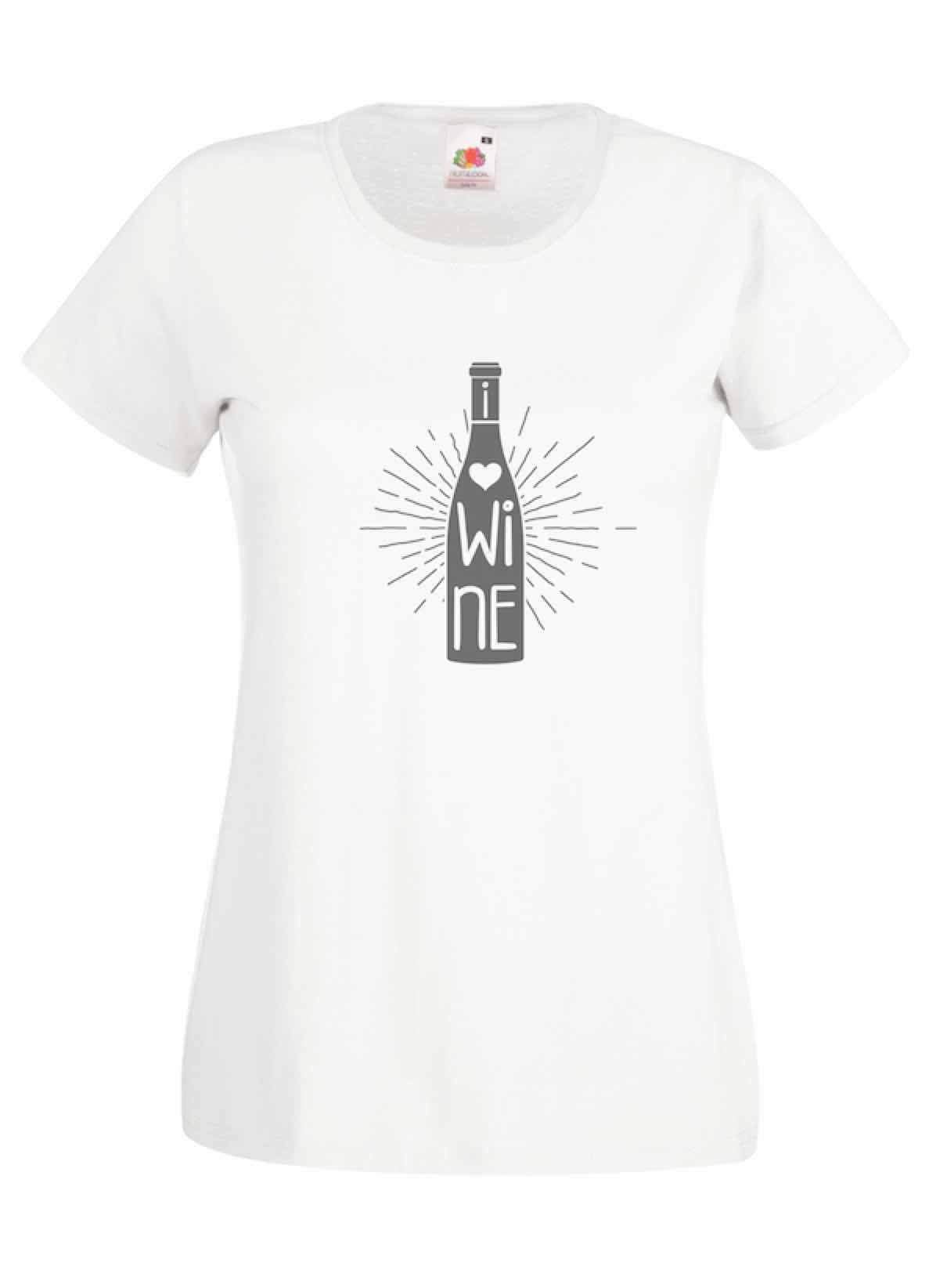Wine design for t-shirt, hoodie & sweatshirt