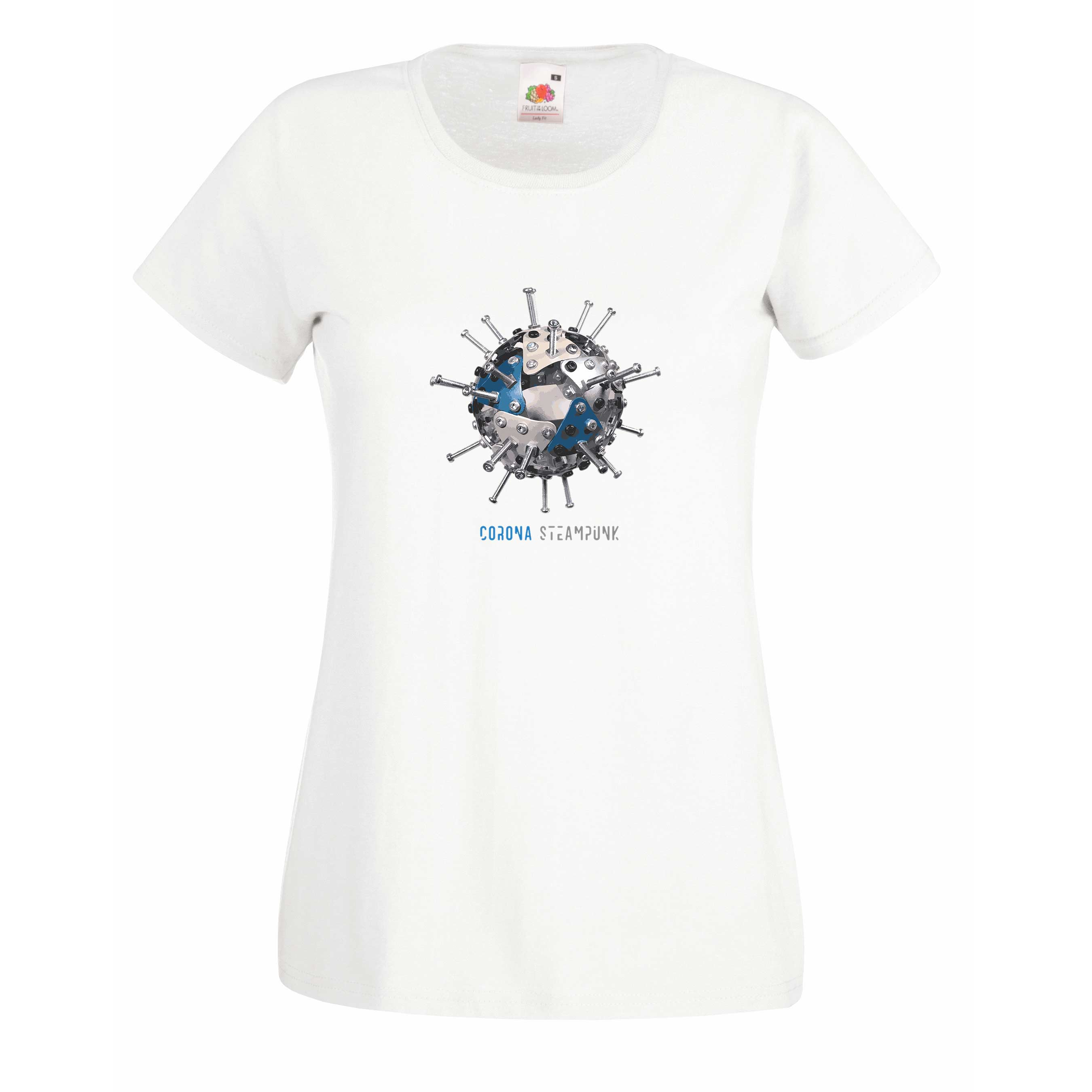 Corona steampunk design for t-shirt, hoodie & sweatshirt