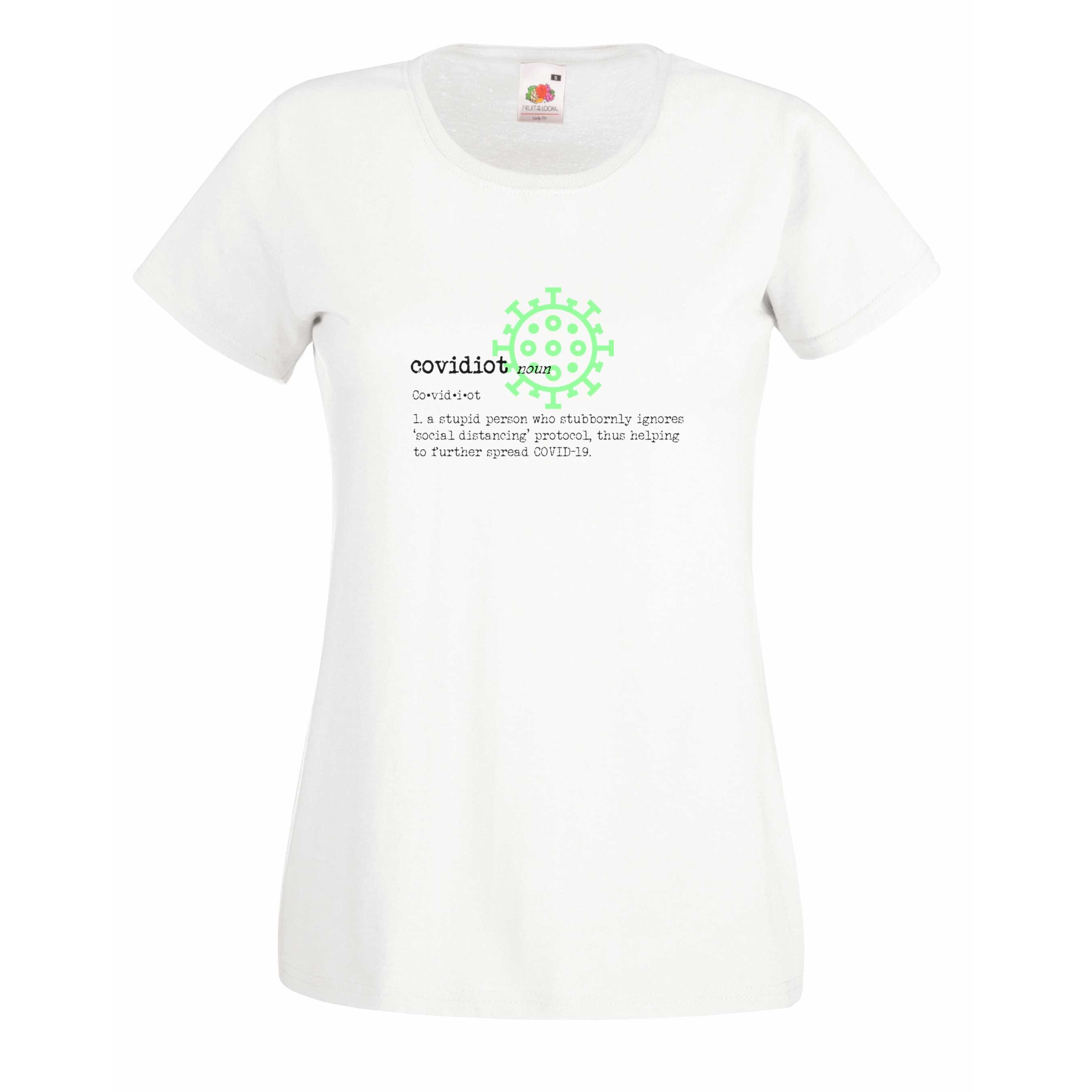 Covidiot design for t-shirt, hoodie & sweatshirt