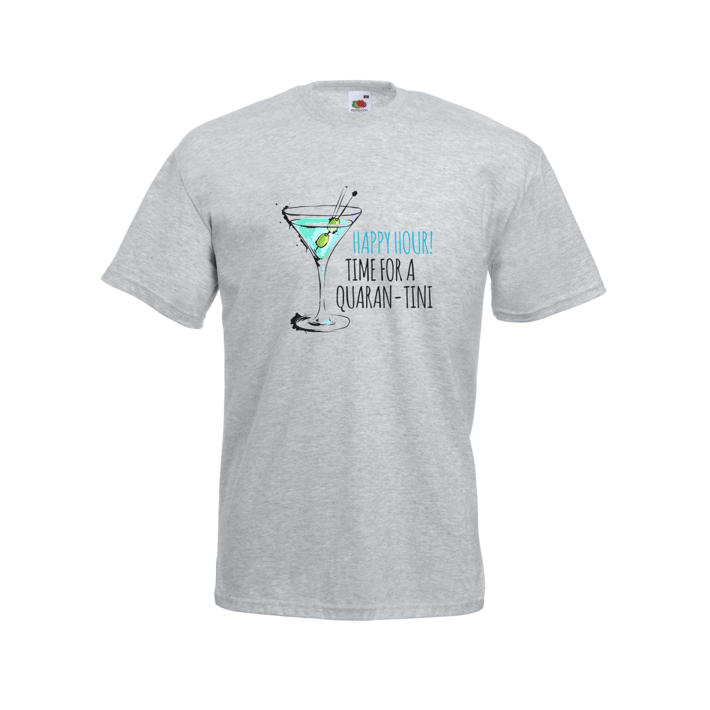 Quaran-tini design for t-shirt, hoodie & sweatshirt