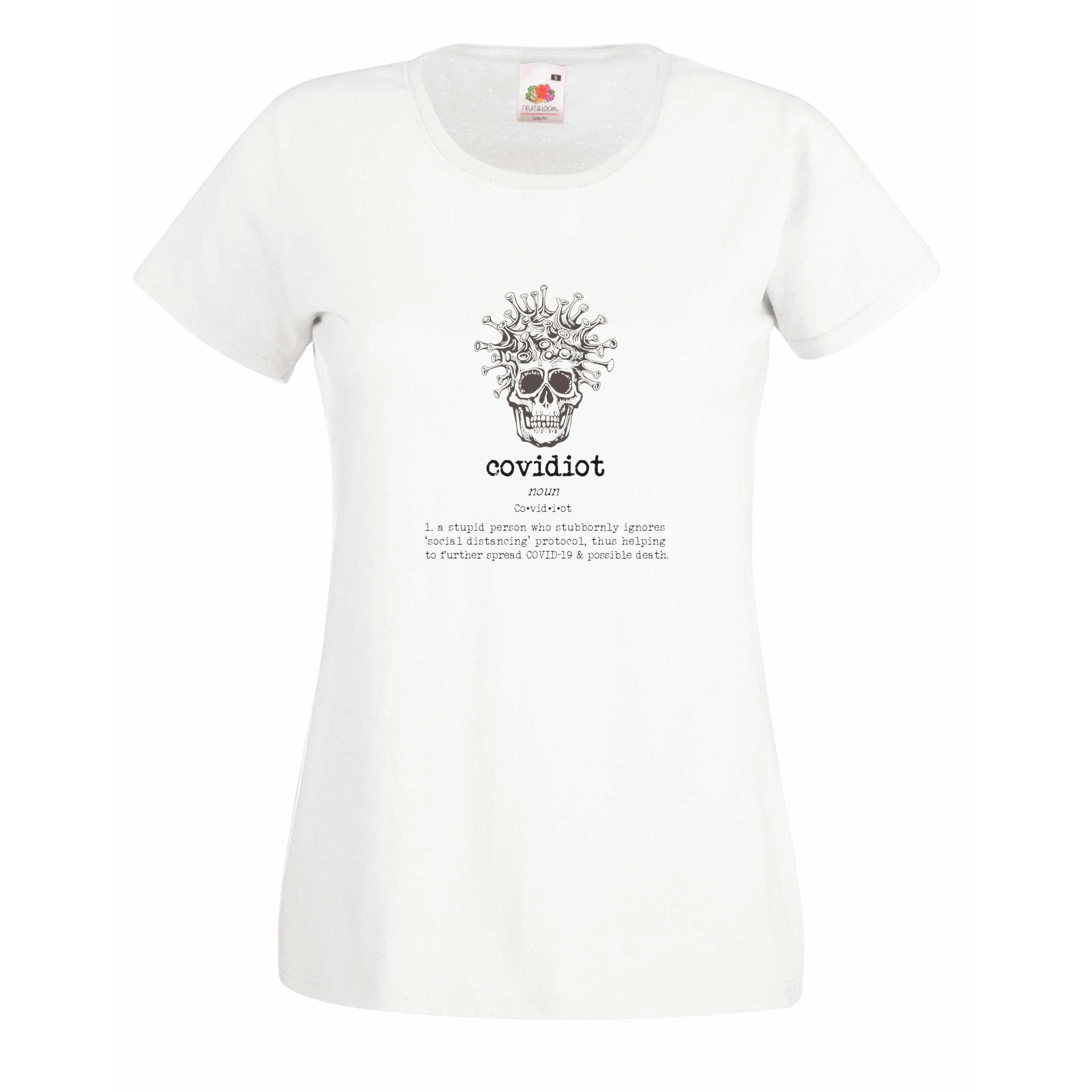 Covidiot 2 design for t-shirt, hoodie & sweatshirt