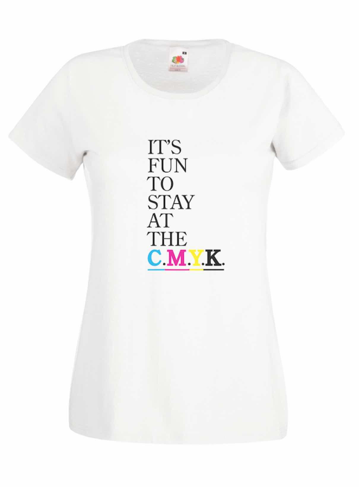 CMYK design for t-shirt, hoodie & sweatshirt