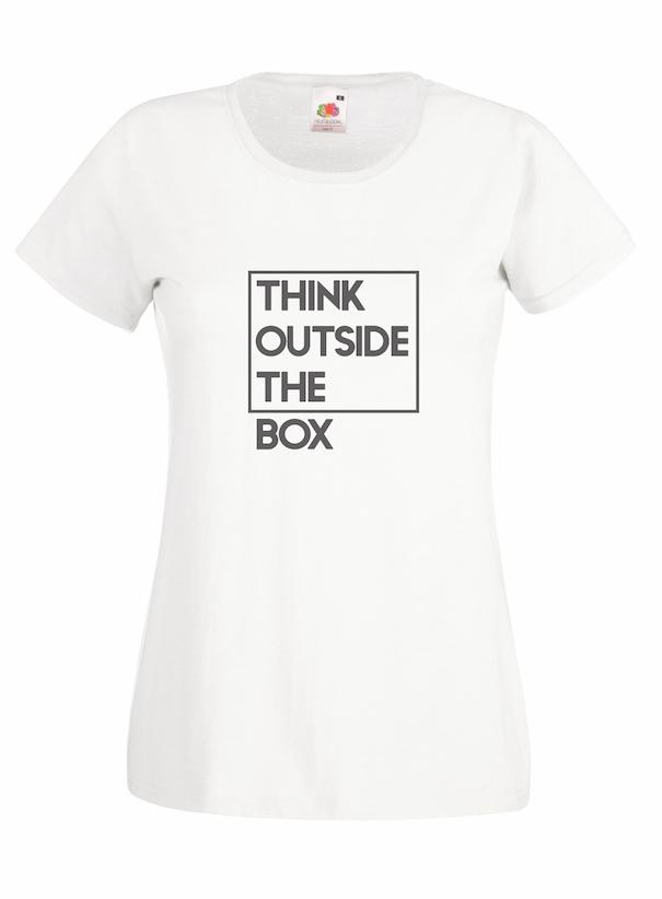 Think Outside design for t-shirt, hoodie & sweatshirt