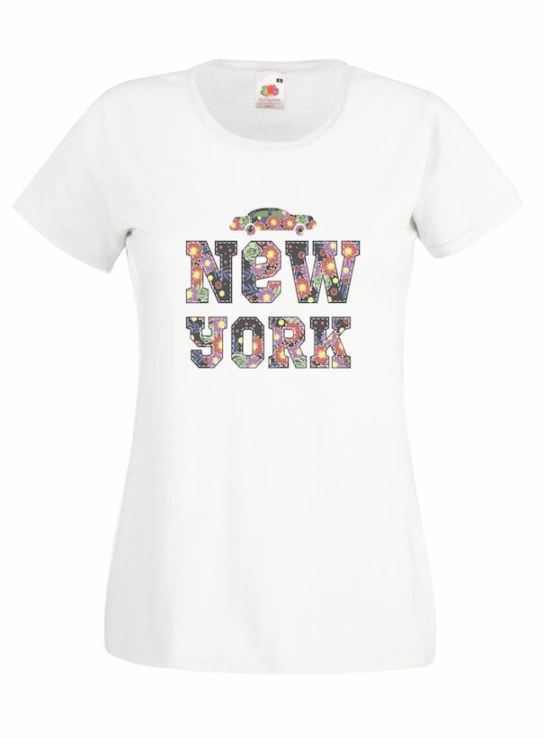 New York Floral design for t-shirt, hoodie & sweatshirt
