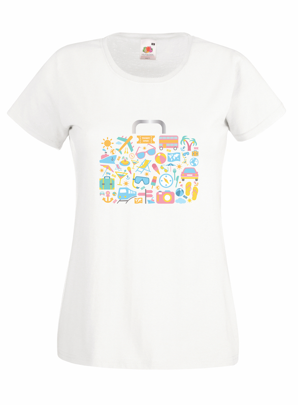 Travel Bag design for t-shirt, hoodie & sweatshirt
