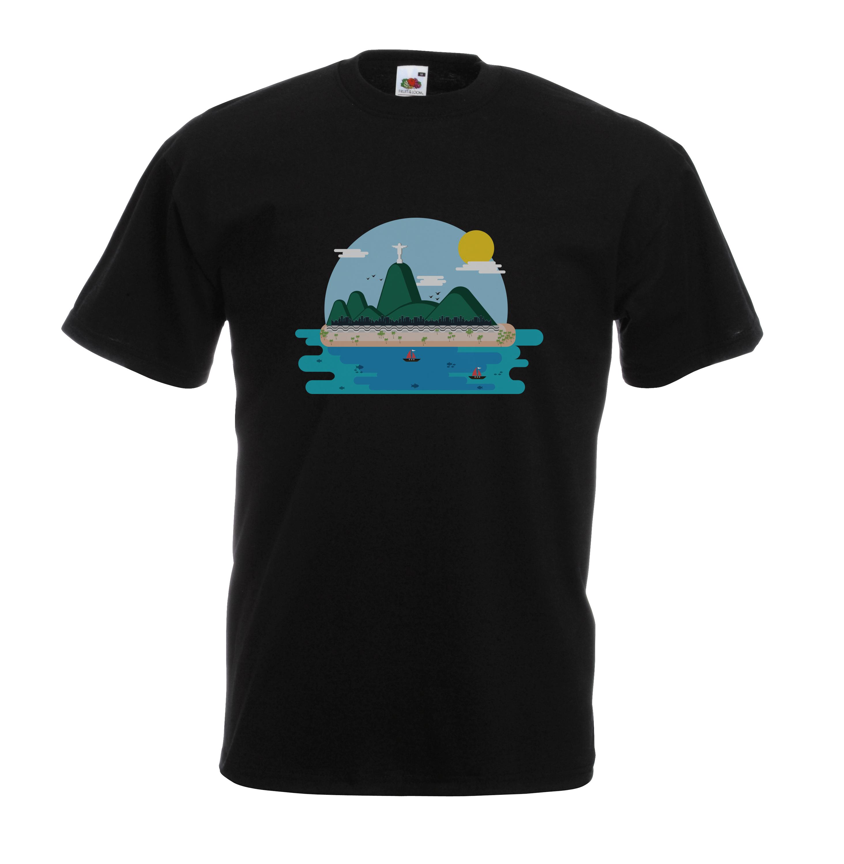 Copacabana Beach design for t-shirt, hoodie & sweatshirt