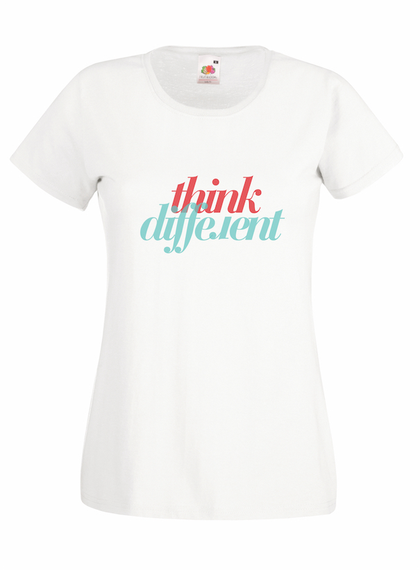 Think Different design for t-shirt, hoodie & sweatshirt