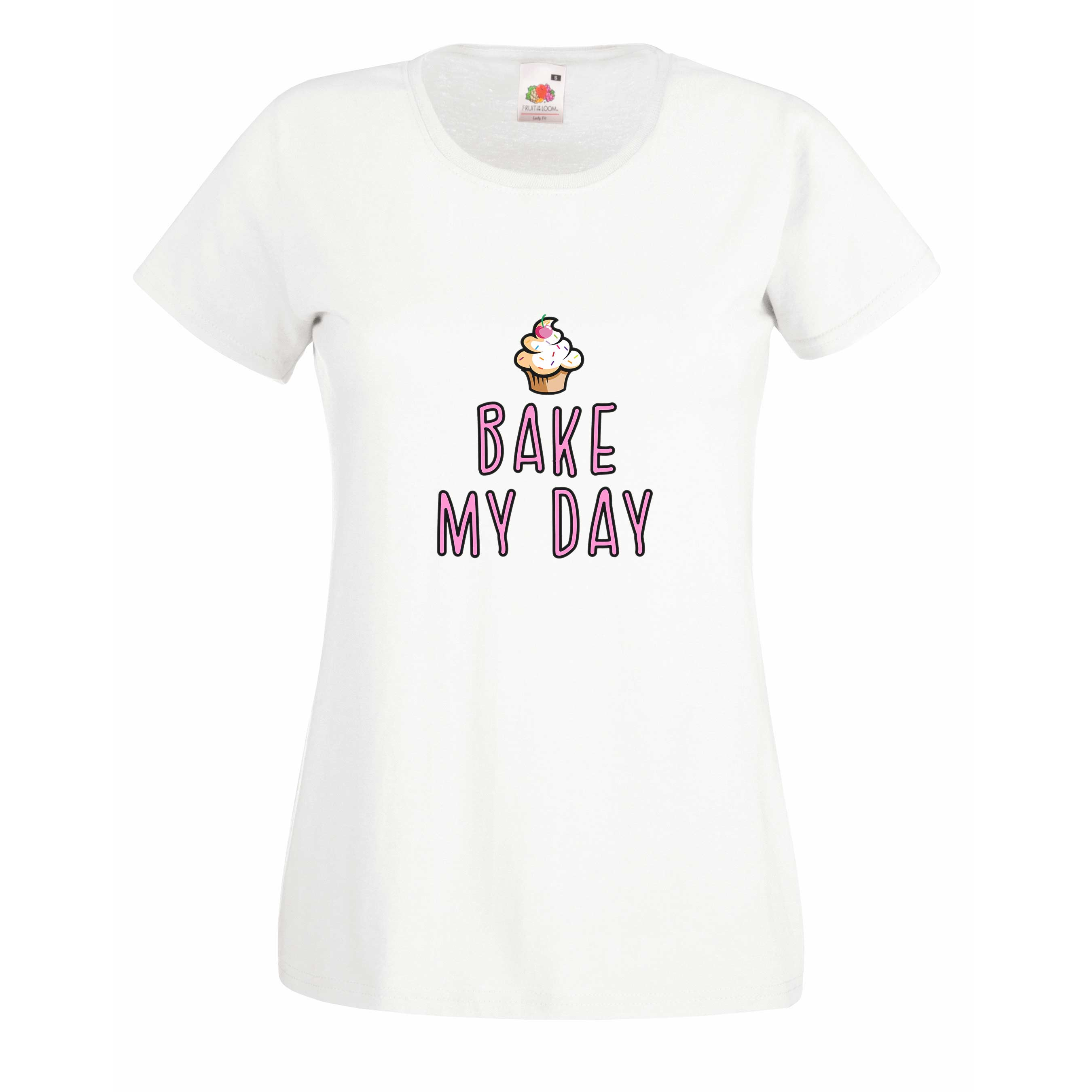 Bake my day design for t-shirt, hoodie & sweatshirt