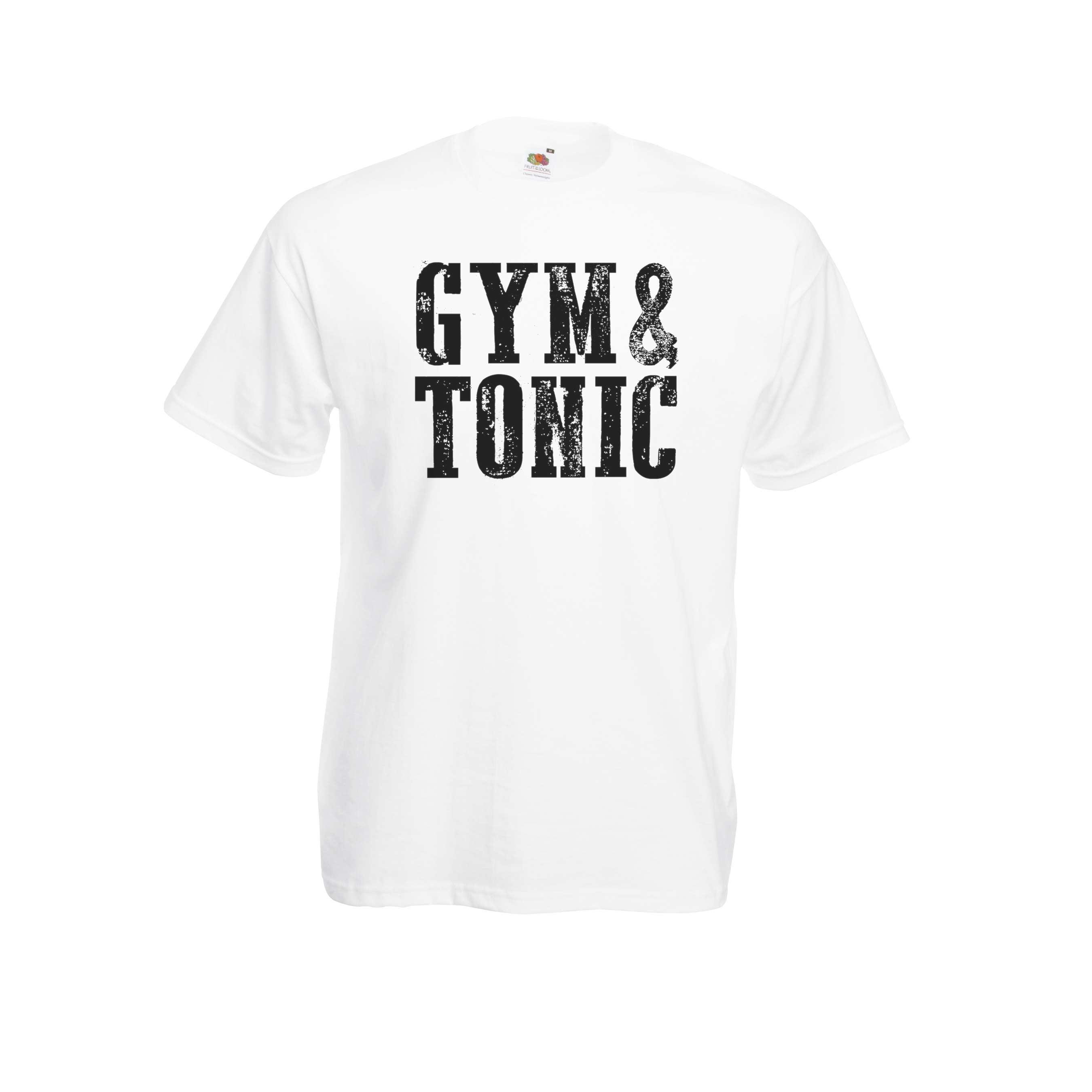 Gym & Tonic design for t-shirt, hoodie & sweatshirt