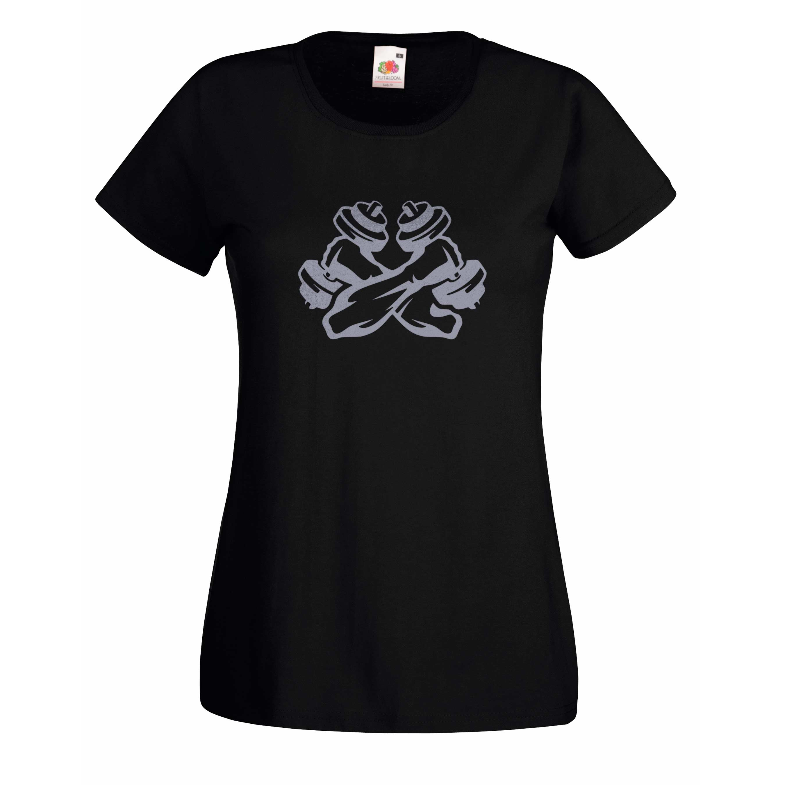 Crossed Weights design for t-shirt, hoodie & sweatshirt