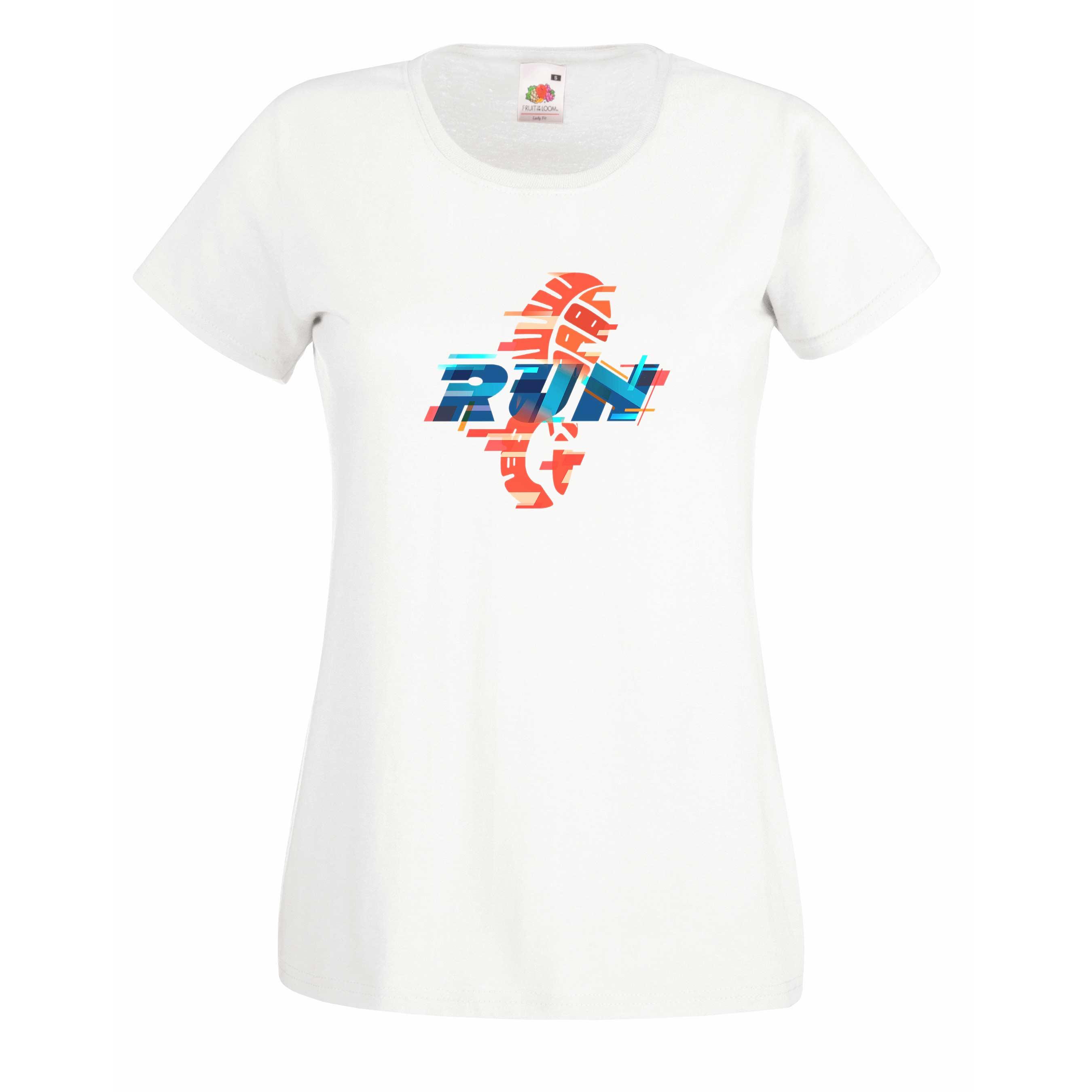 Run design for t-shirt, hoodie & sweatshirt