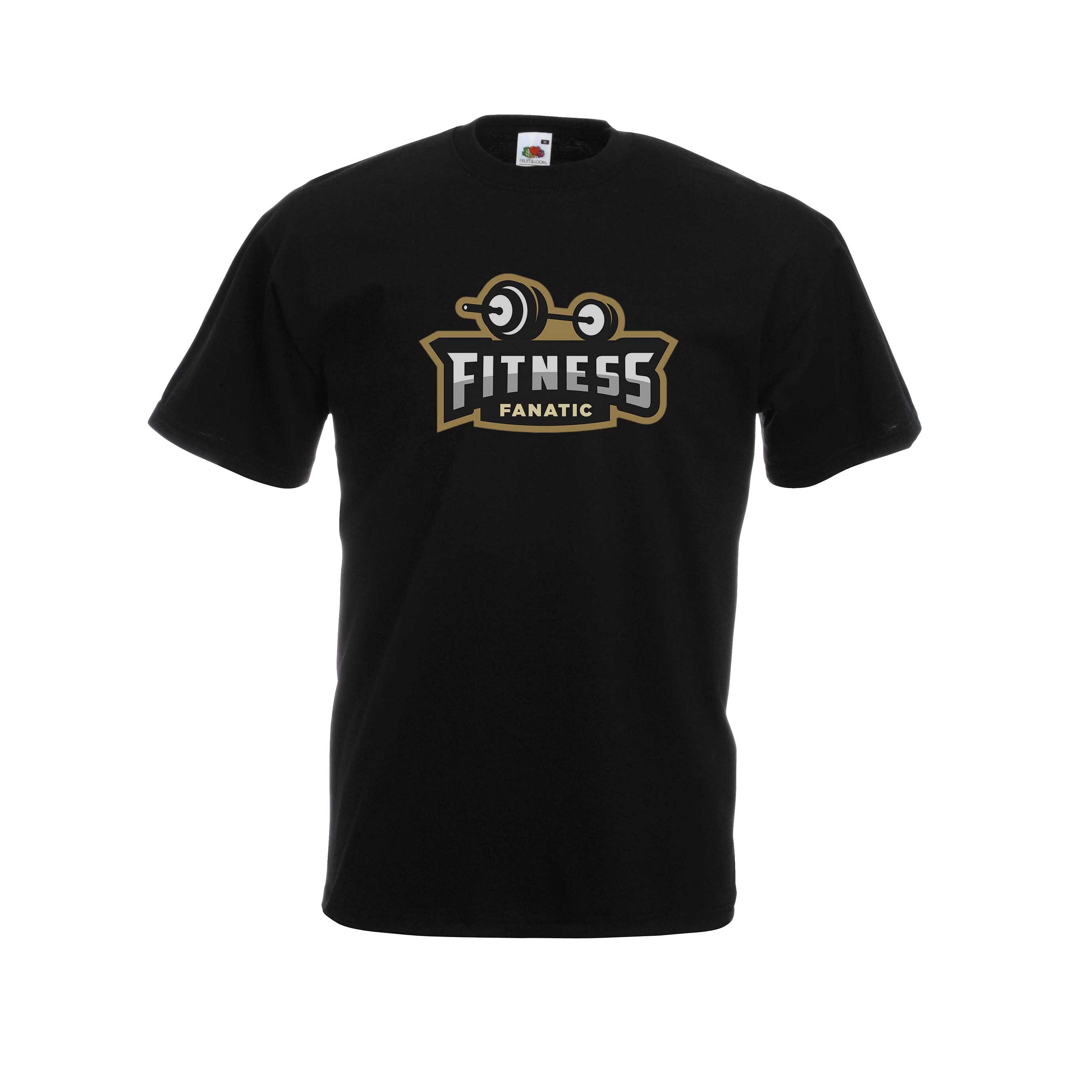 Fitness Fanatic design for t-shirt, hoodie & sweatshirt