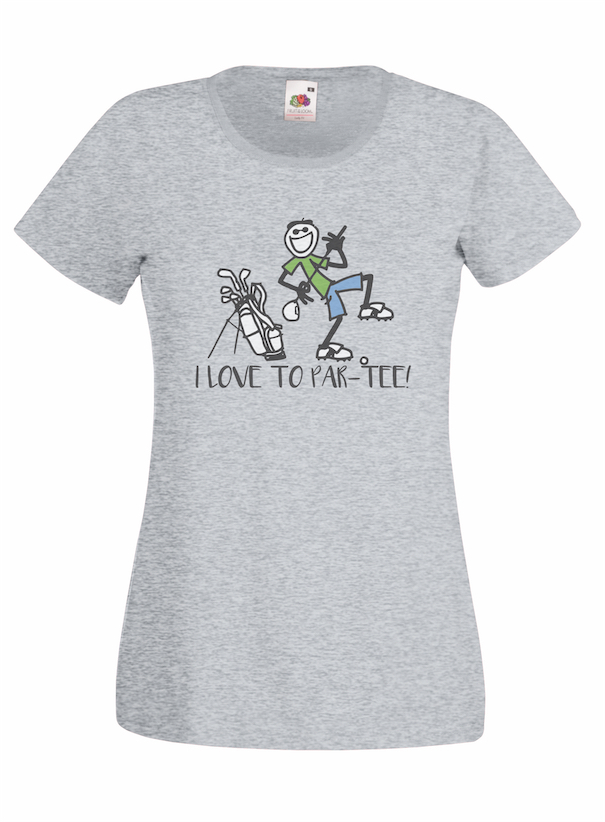 Par-Tee design for t-shirt, hoodie & sweatshirt