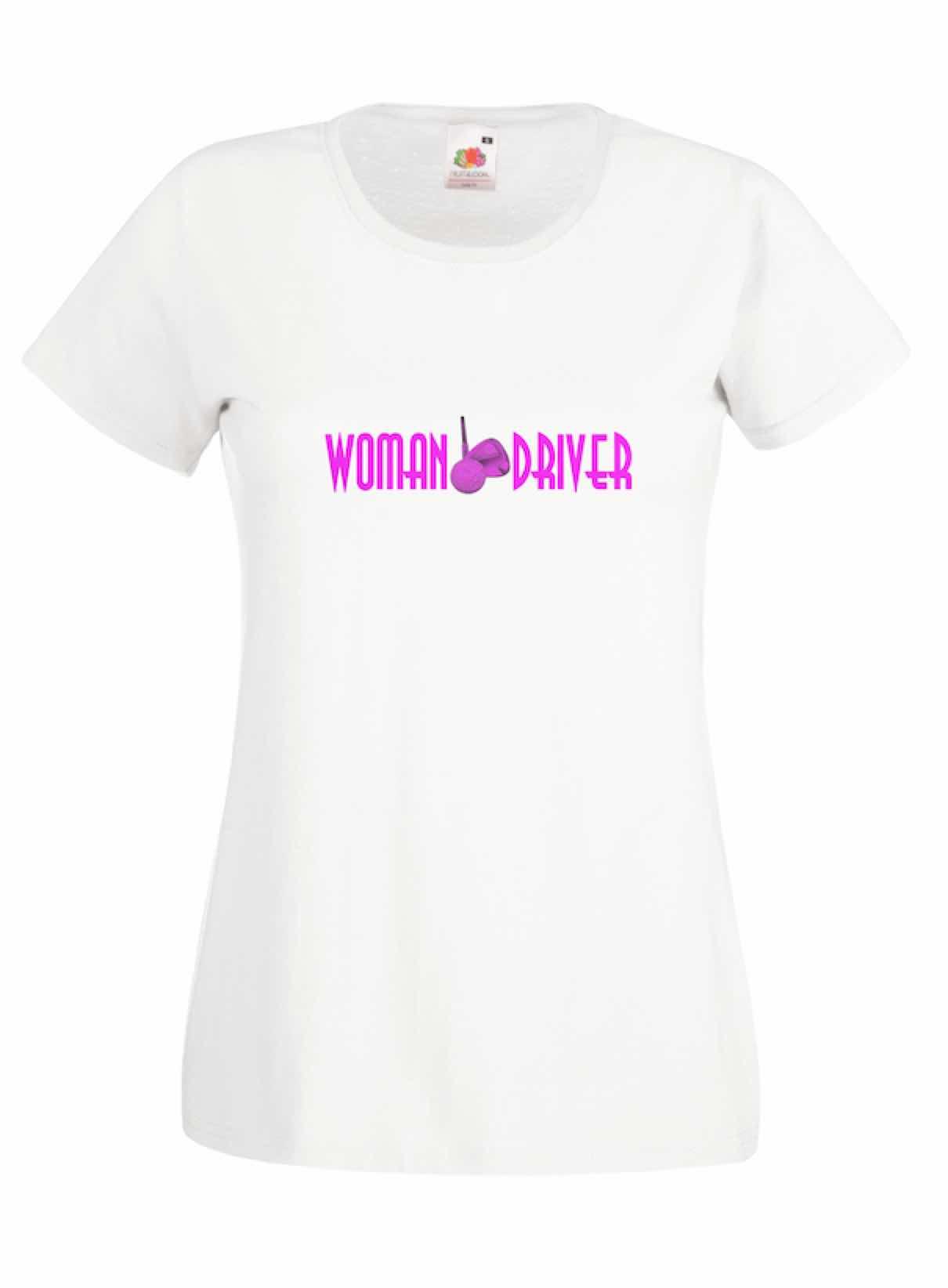 Woman Driver design for t-shirt, hoodie & sweatshirt