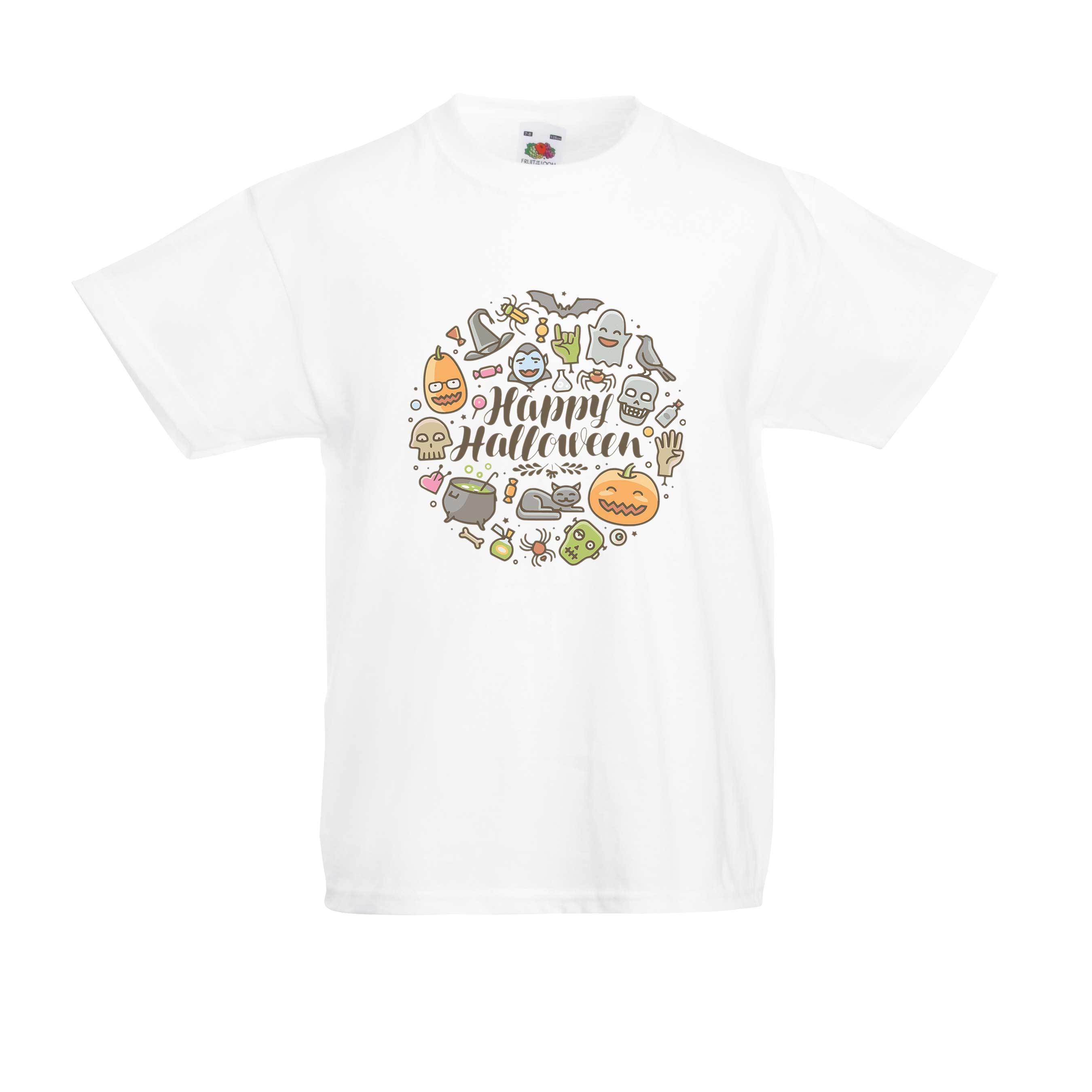 Halloween Round design for t-shirt, hoodie & sweatshirt