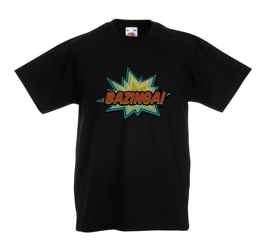 Bazinga design for t-shirt, hoodie & sweatshirt