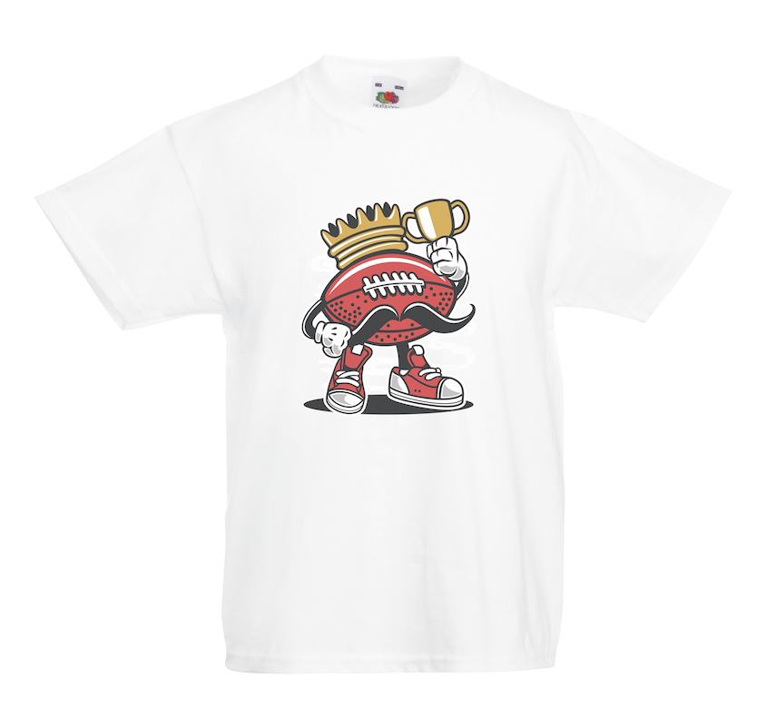 Football King design for t-shirt, hoodie & sweatshirt