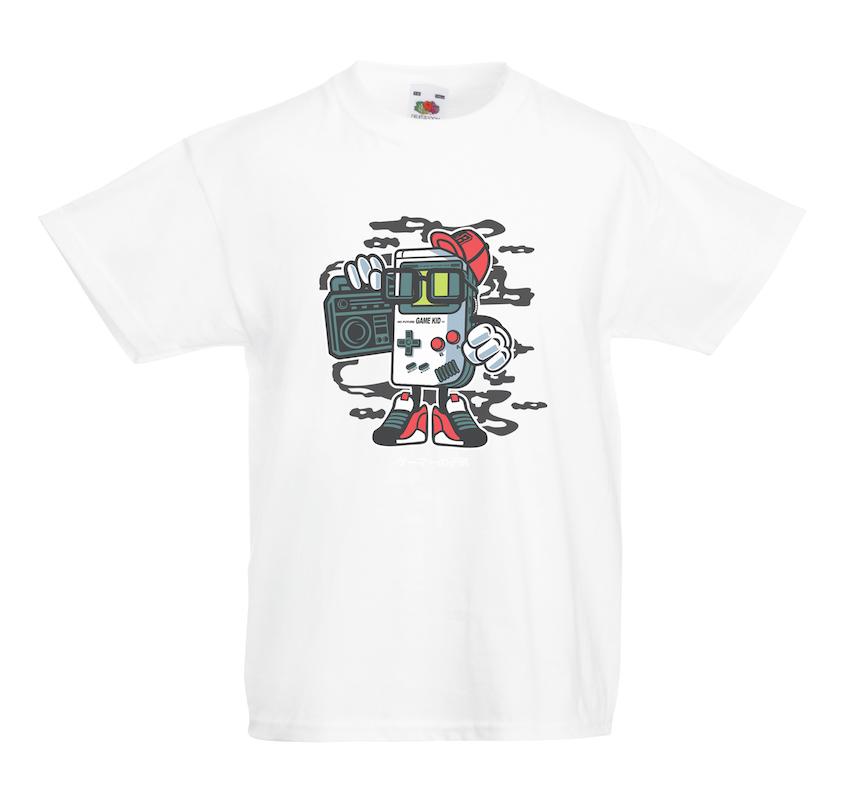 Game Kid design for t-shirt, hoodie & sweatshirt