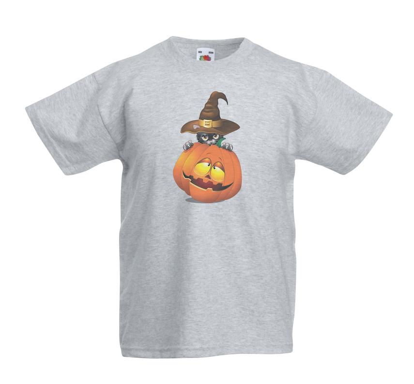 Halloween Cat & Pumpkin design for t-shirt, hoodie & sweatshirt