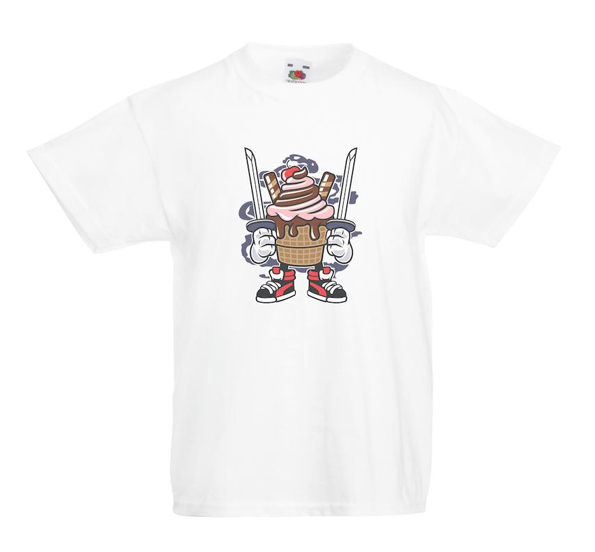 Ice Cream Ninja design for t-shirt, hoodie & sweatshirt