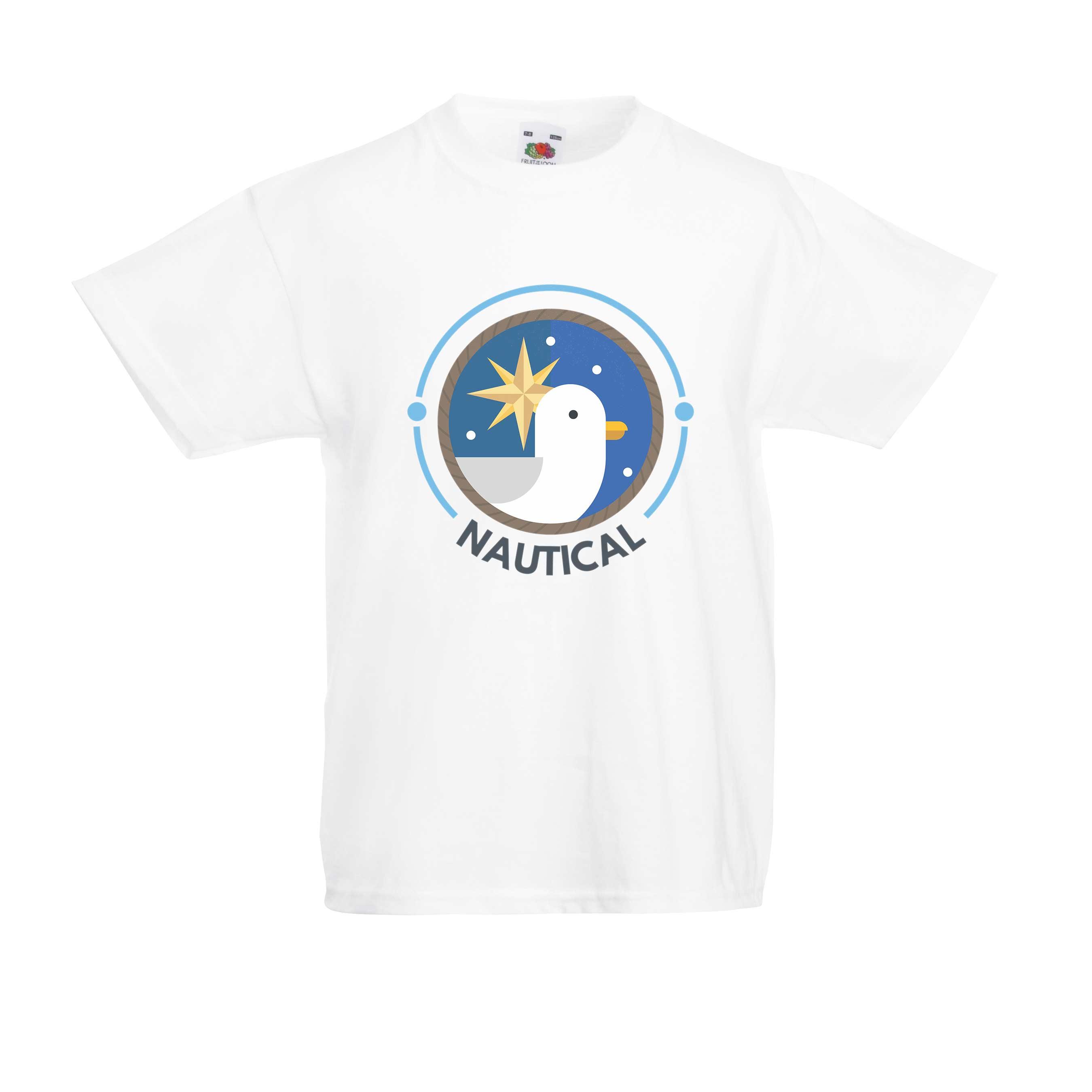 Seagul Nautical design for t-shirt, hoodie & sweatshirt