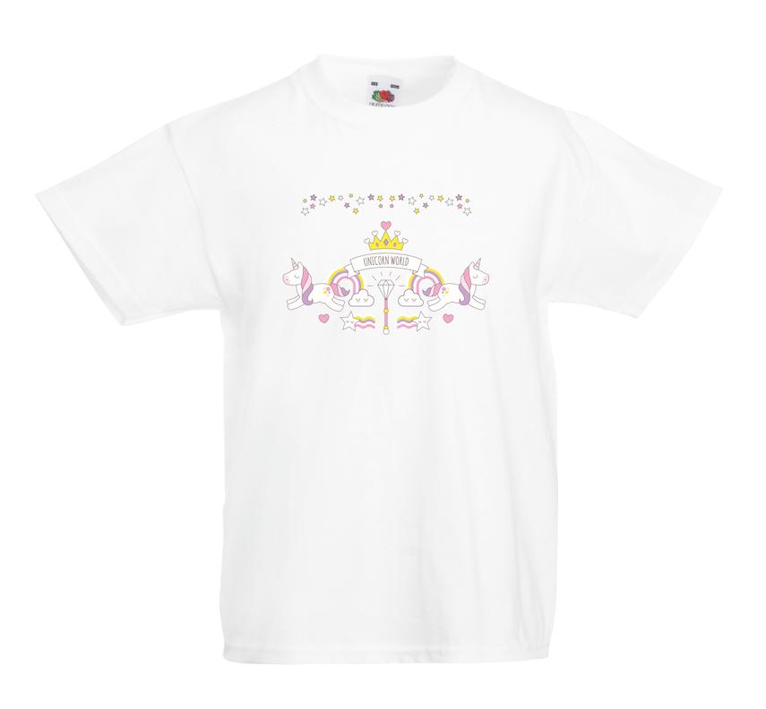 Unicorn World design for t-shirt, hoodie & sweatshirt