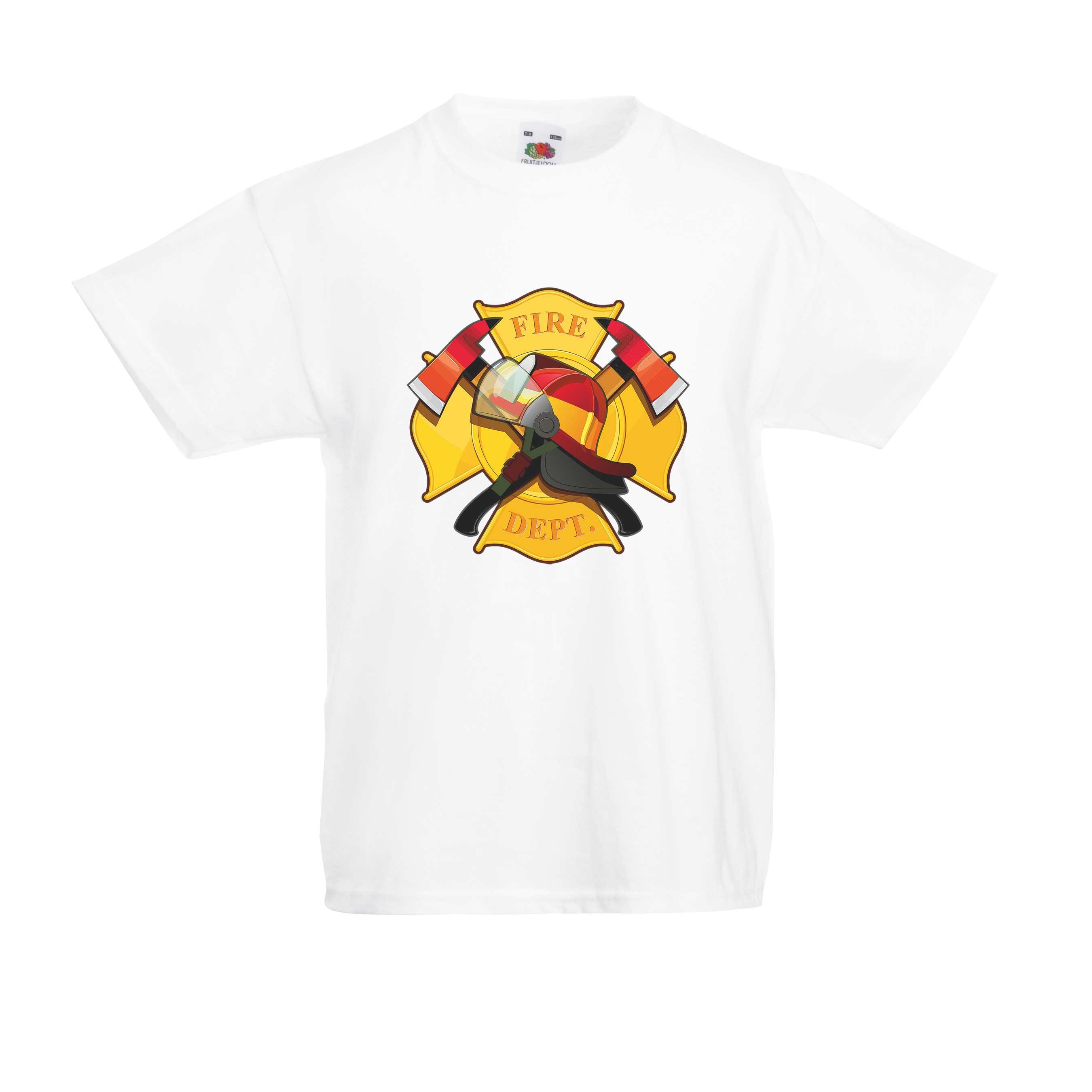 Fire Department design for t-shirt, hoodie & sweatshirt