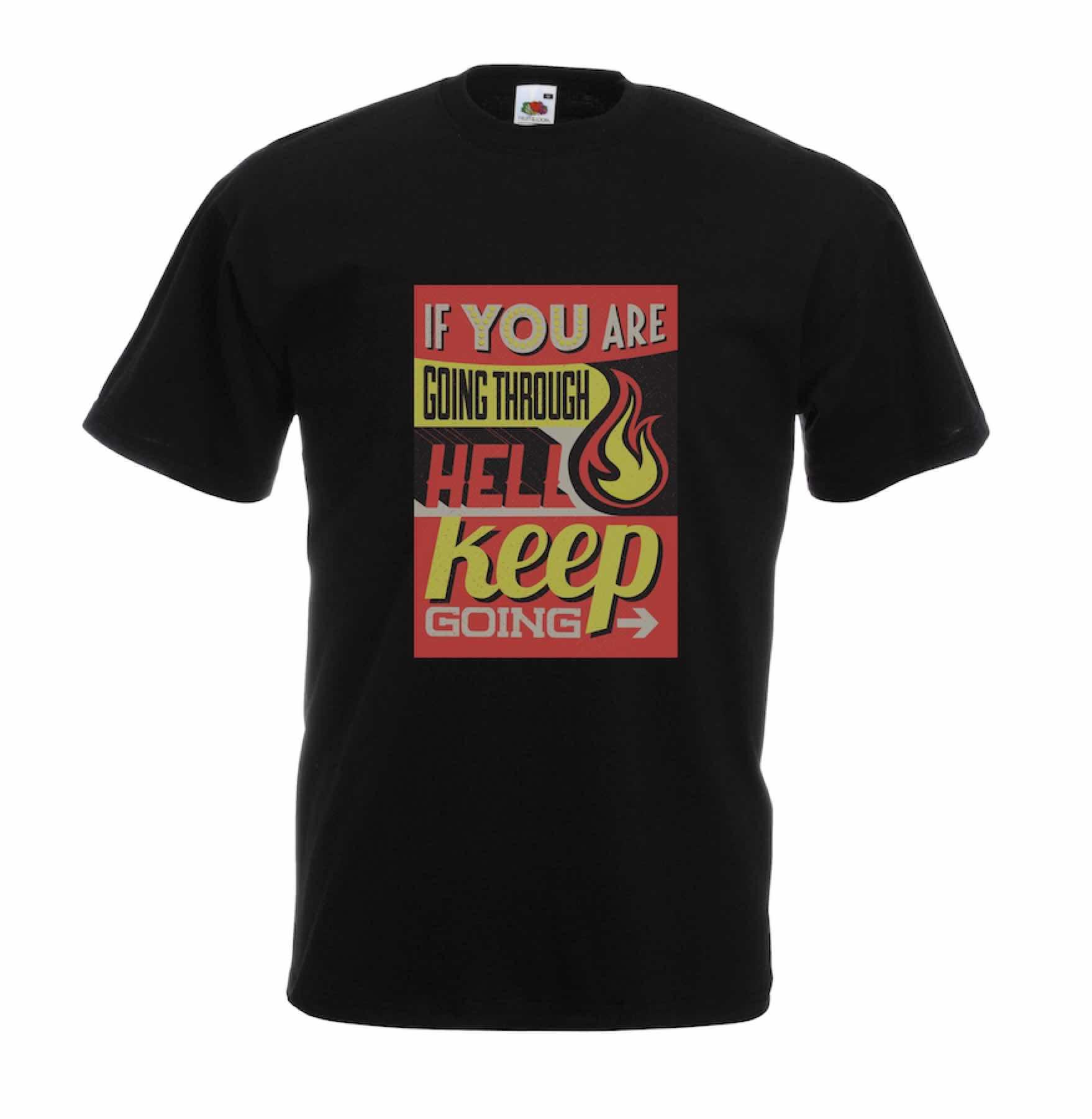 Hell design for t-shirt, hoodie & sweatshirt