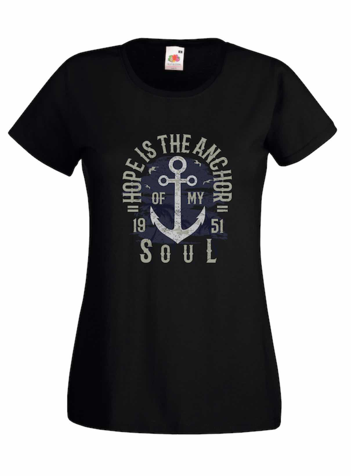 Hope Is The Anchor design for t-shirt, hoodie & sweatshirt