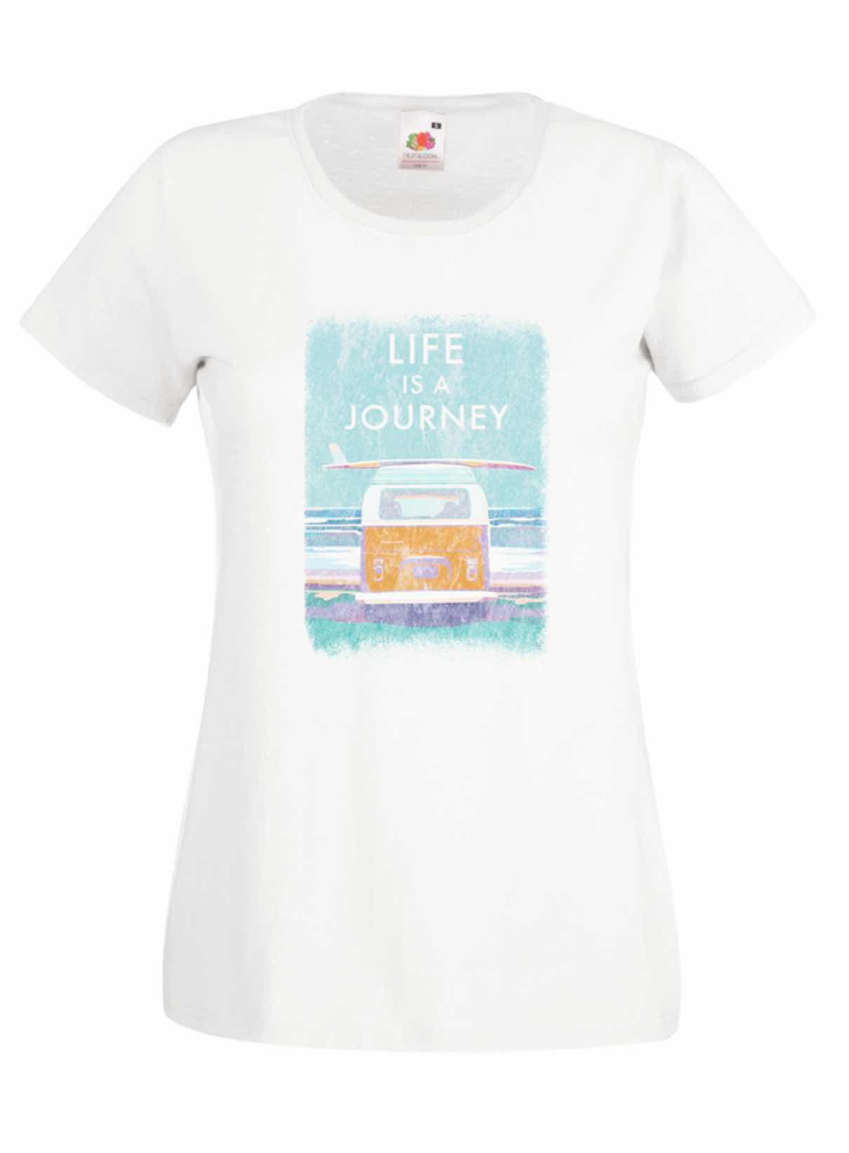 Life Is A Journey design for t-shirt, hoodie & sweatshirt